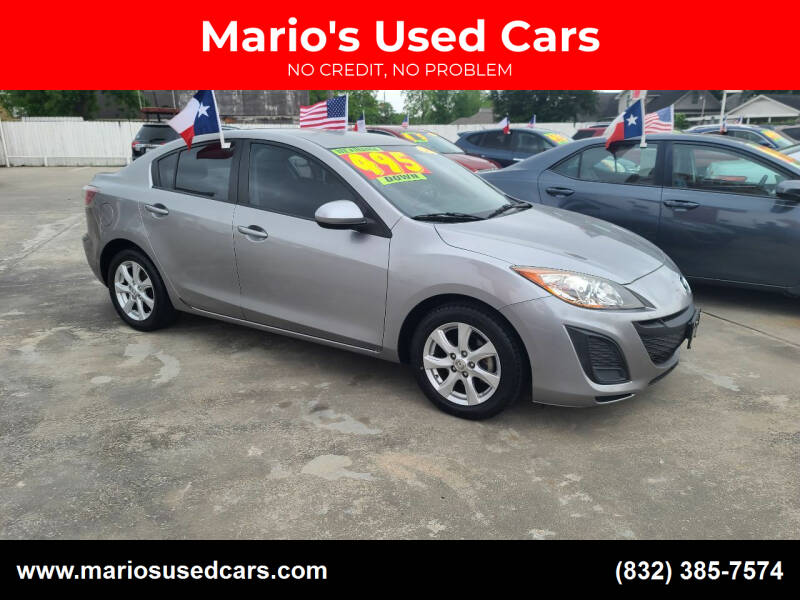 2010 Mazda MAZDA3 for sale at Mario's Used Cars - South Houston Location in South Houston TX