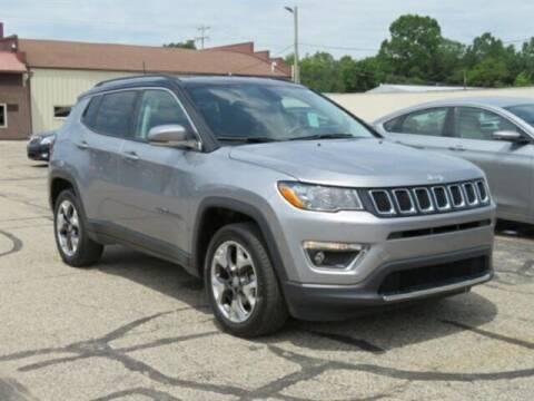 2018 Jeep Compass for sale at Miller Auto Sales in Saint Louis MI