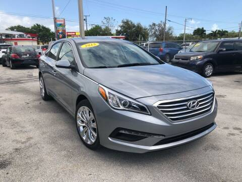 2015 Hyundai Sonata for sale at VC Auto Sales in Miami FL