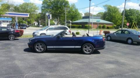 2010 Ford Mustang for sale at VINE STREET MOTOR CO in Urbana IL