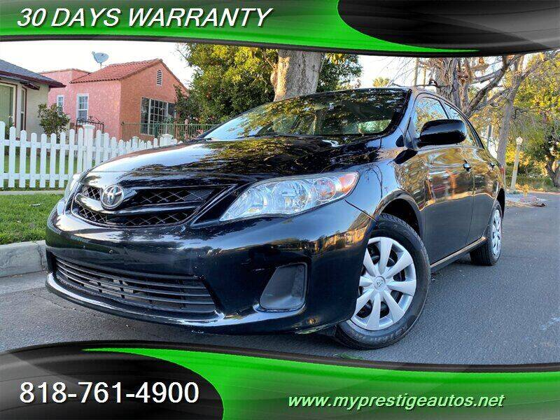 2011 Toyota Corolla for sale at Prestige Auto Sports Inc in North Hollywood CA