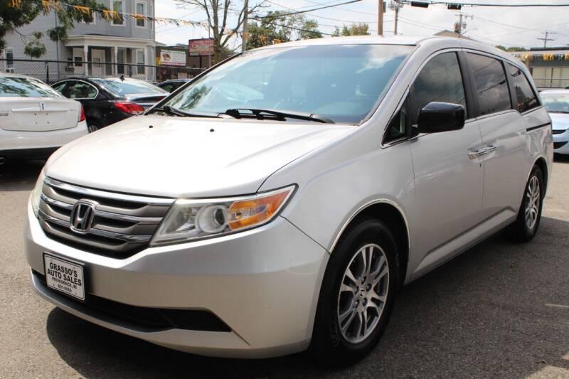 2012 Honda Odyssey for sale at Grasso's Auto Sales in Providence RI