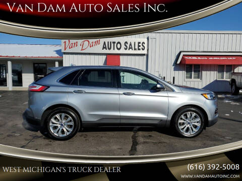 2020 Ford Edge for sale at Van Dam Auto Sales Inc. in Holland MI