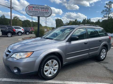 2008 Subaru Outback for sale at CVC AUTO SALES in Durham NC
