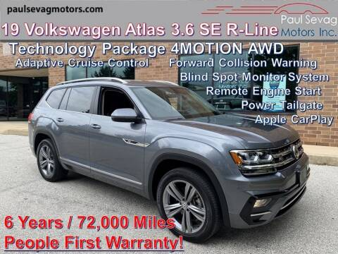 2019 Volkswagen Atlas for sale at Paul Sevag Motors Inc in West Chester PA