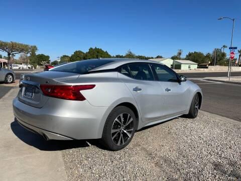 2018 Nissan Maxima for sale at CURIEL'S AUTO SALES LLC in Yuma AZ