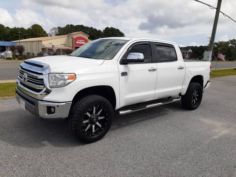 2016 Toyota Tundra for sale at USA 1 Autos in Smithfield VA