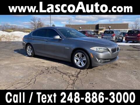 2013 BMW 5 Series for sale at Lasco of Waterford in Waterford MI