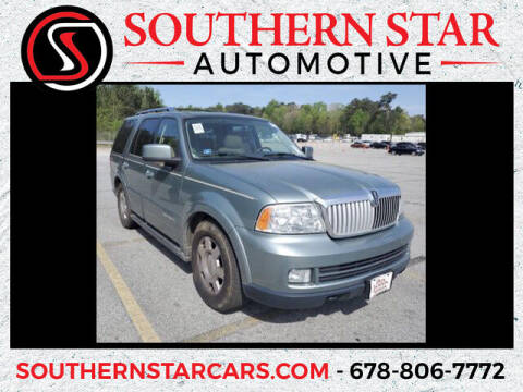 2006 Lincoln Navigator for sale at Southern Star Automotive, Inc. in Duluth GA