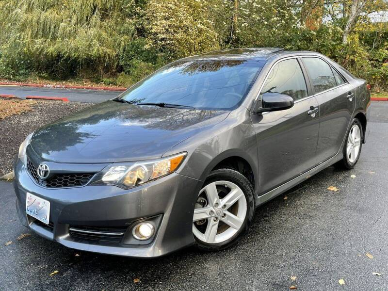 2013 Toyota Camry for sale at Halo Motors in Bellevue WA