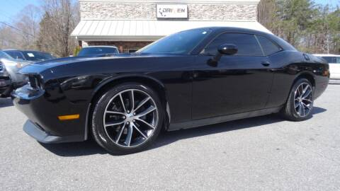 2013 Dodge Challenger for sale at Driven Pre-Owned in Lenoir NC