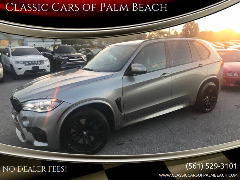 2018 BMW X5 M for sale at Classic Cars of Palm Beach in Jupiter FL