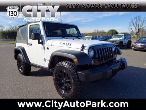 2015 Jeep Wrangler for sale at City Auto Park in Burlington NJ