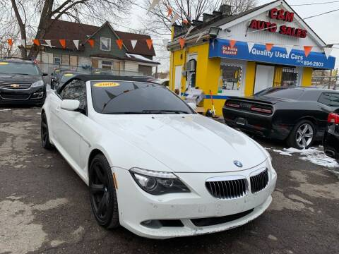 2009 BMW 6 Series for sale at C & M Auto Sales in Detroit MI