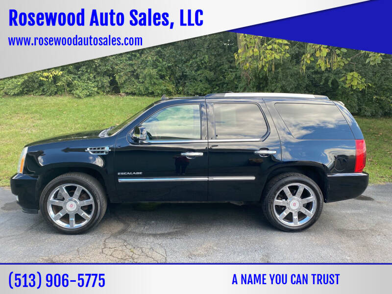 2011 Cadillac Escalade for sale at Rosewood Auto Sales, LLC in Hamilton OH