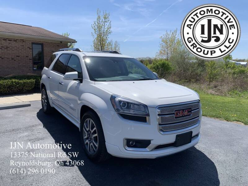 2014 GMC Acadia for sale at IJN Automotive Group LLC in Reynoldsburg OH