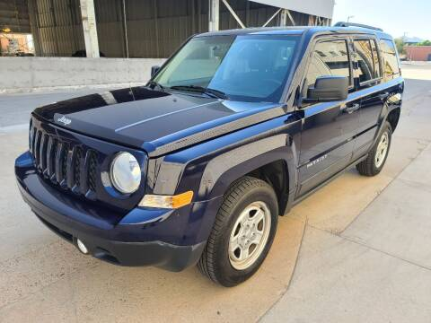 2014 Jeep Patriot for sale at NEW UNION FLEET SERVICES LLC in Goodyear AZ