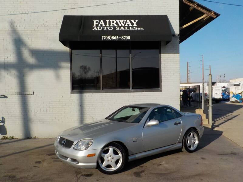 2000 Mercedes-Benz SLK for sale at FAIRWAY AUTO SALES, INC. in Melrose Park IL