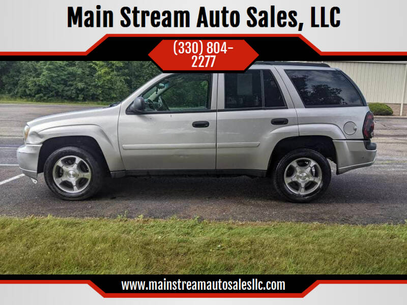 2007 Chevrolet TrailBlazer for sale at Main Stream Auto Sales, LLC in Wooster OH