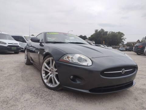 2007 Jaguar XK-Series for sale at Canyon View Auto Sales in Cedar City UT