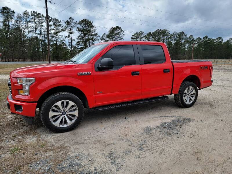 2017 Ford F-150 for sale at RED ALLEN DIESEL in Anacoco LA