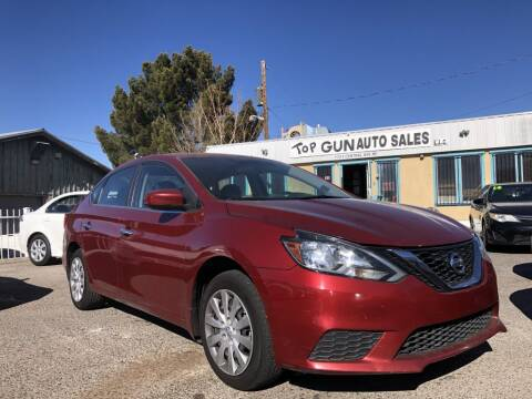 2016 Nissan Sentra for sale at Top Gun Auto Sales, LLC in Albuquerque NM