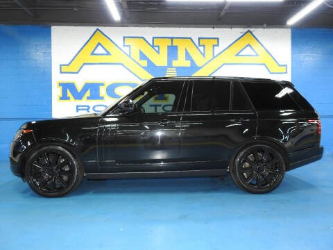 2017 Land Rover Range Rover for sale at ANNA MOTORS, INC. in Detroit MI