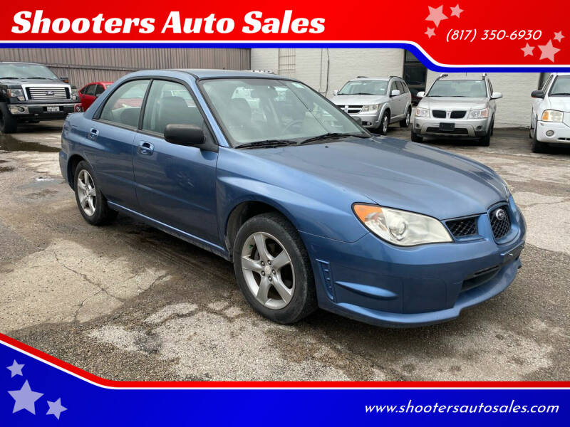 2007 Subaru Impreza for sale at Shooters Auto Sales in Fort Worth TX