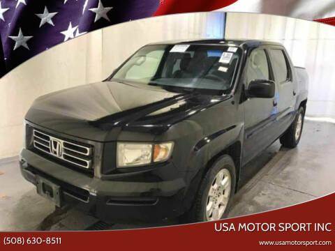 2008 Honda Ridgeline for sale at USA Motor Sport inc in Marlborough MA