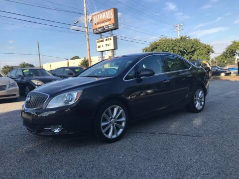 2012 Buick Verano for sale at Autohaus of Greensboro in Greensboro NC