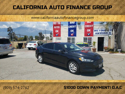 2014 Ford Fusion for sale at CALIFORNIA AUTO FINANCE GROUP in Fontana CA