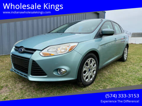 2012 Ford Focus for sale at Wholesale Kings in Elkhart IN