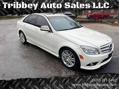 2009 Mercedes-Benz C-Class for sale at Tribbey Auto Sales in Stockbridge GA