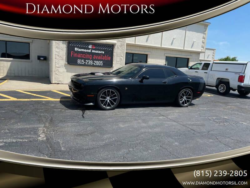 2016 Dodge Challenger for sale at Diamond Motors in Pecatonica IL
