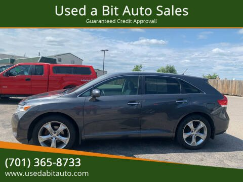 2011 Toyota Venza for sale at Used a Bit Auto Sales in Fargo ND