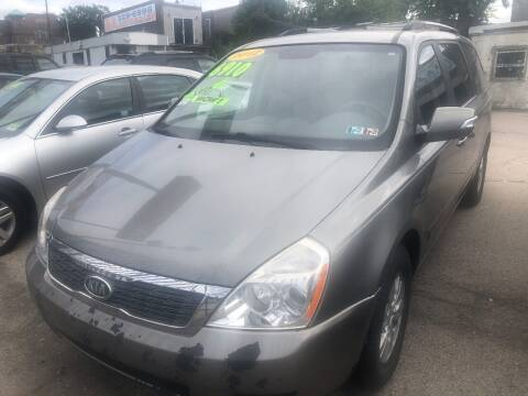 2012 Kia Sedona for sale at Z & A Auto Sales in Philadelphia PA