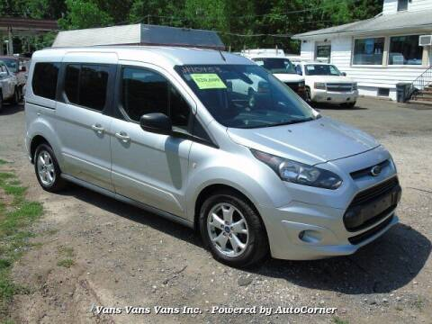2015 Ford Transit Connect Wagon for sale at Vans Vans Vans INC in Blauvelt NY