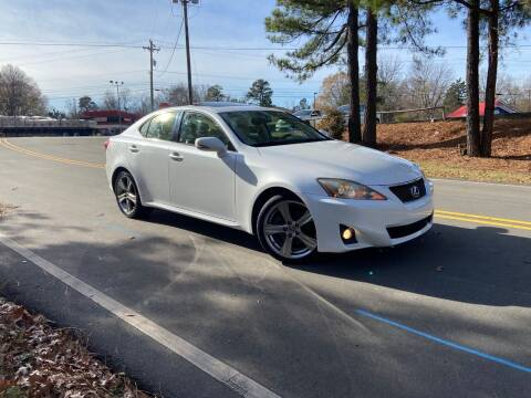 2013 Lexus IS 250 for sale at THE AUTO FINDERS in Durham NC