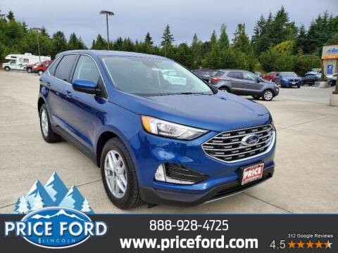 2021 Ford Edge for sale at Price Ford Lincoln in Port Angeles WA