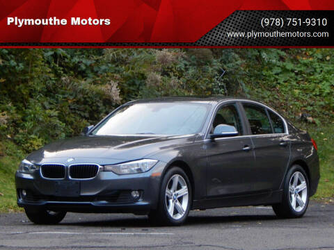 2015 BMW 3 Series for sale at Plymouthe Motors in Leominster MA