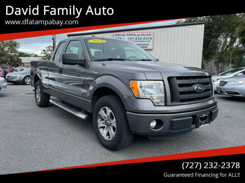 2012 Ford F-150 for sale at David Family Auto in New Port Richey FL
