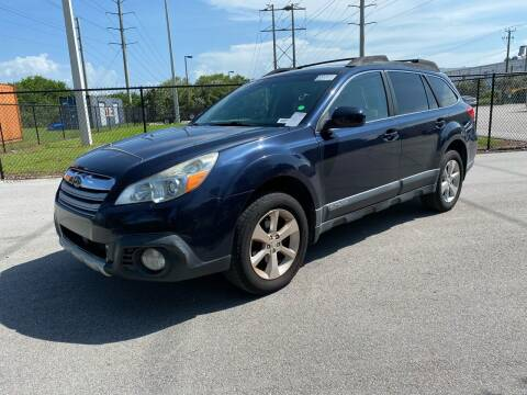 2014 Subaru Outback for sale at Ultimate Dream Cars in Wellington FL