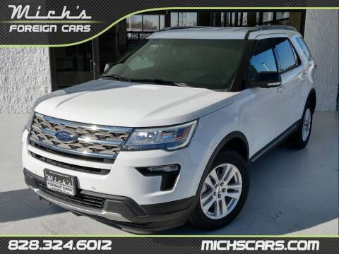 2018 Ford Explorer for sale at Mich's Foreign Cars in Hickory NC