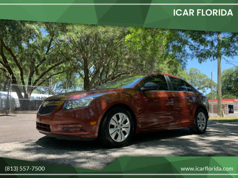 2012 Chevrolet Cruze for sale at ICar Florida in Lutz FL
