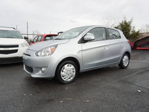 2015 Mitsubishi Mirage for sale at CHAPARRAL USED CARS in Piney Flats TN