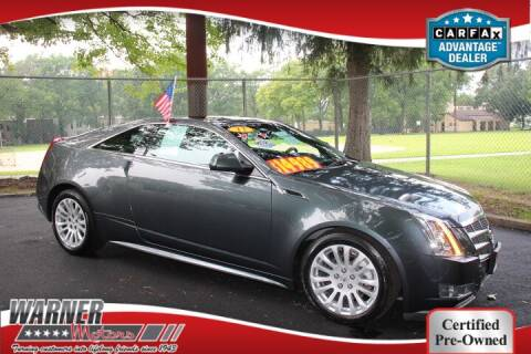 2011 Cadillac CTS for sale at Warner Motors in East Orange NJ
