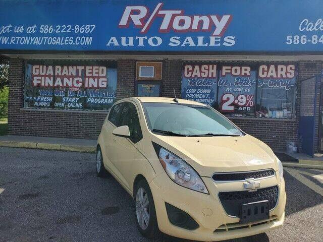 2013 Chevrolet Spark for sale at R Tony Auto Sales in Clinton Township MI
