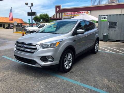 2017 Ford Escape for sale at CHASE MOTOR in Miami FL