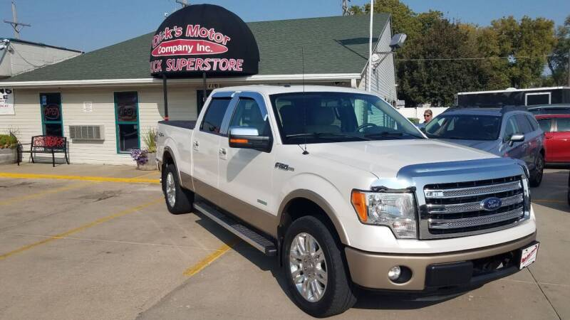 2013 Ford F-150 for sale at DICK'S MOTOR CO INC in Grand Island NE
