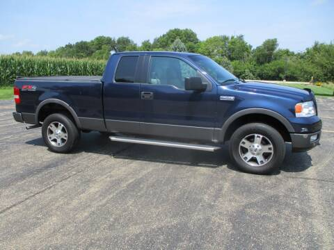 2005 Ford F-150 for sale at Crossroads Used Cars Inc. in Tremont IL